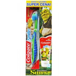 Pasta De Dinti Colgate Set Smiles 6+ Shrek 50ml