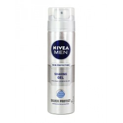 Nivea Men Gel De Ras Silver Protect 200ml