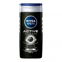 Nivea Gel Dus Men Active Clean 250ml