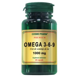Ulei Seminte De In  Omega 3-6-9 1000mg