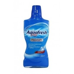 Apa De Gura Aquafresh Fresh Mint 500ml