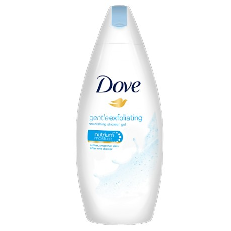 Dove Gel Dus Fem Gentle Exfoliating 250m