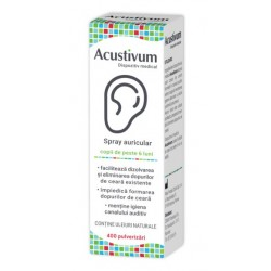 Acustivum Spray Auricular, 20 ml, Zdrovit