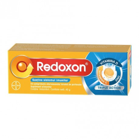Redoxon Double Action 1000mg Compr. Eff.