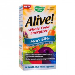 Alive Men S  50+ Ultra 30cpr