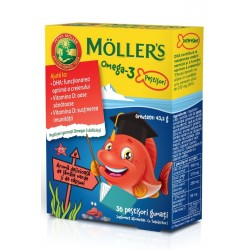 Mollers Omega 3 Fishes Strawberry