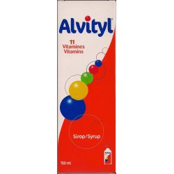 Alvityl 11 Vitamine Sirop 150ml