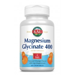 Magnesium Glycinate 400mg X 60cpr
