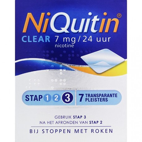 Niquitin Clear 7mg