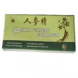 Panax Ginseng Extractum, 10 Fiole, Minerva