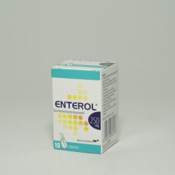 Enterol 250mg *10 Caps.