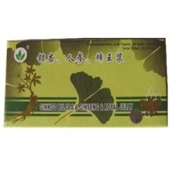 Ginkgo + Ginseng + Royal Jelly 10fiole